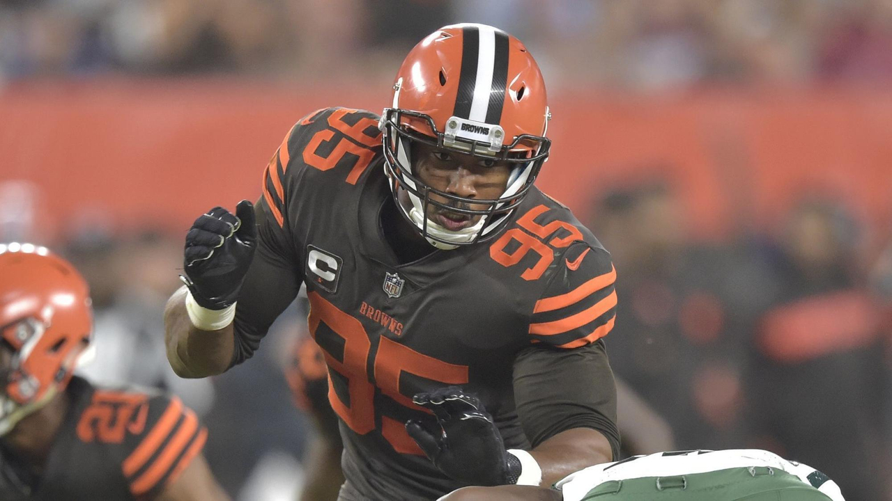 3837a2a1091 Myles Garrett s Just Scratching the Surface of His Potential ...
