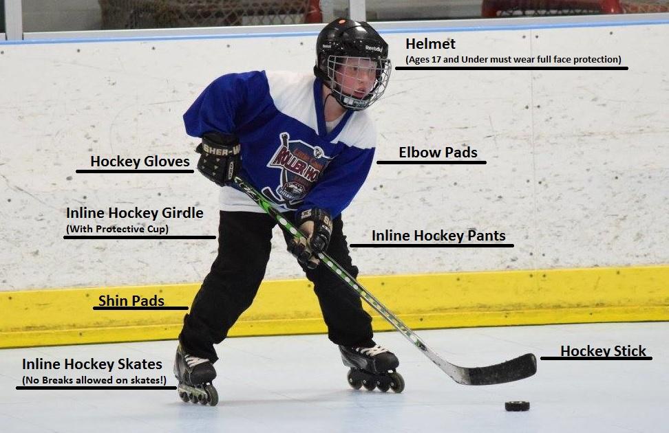 010534052bf Required Equipment - Little Caesars Roller Hockey