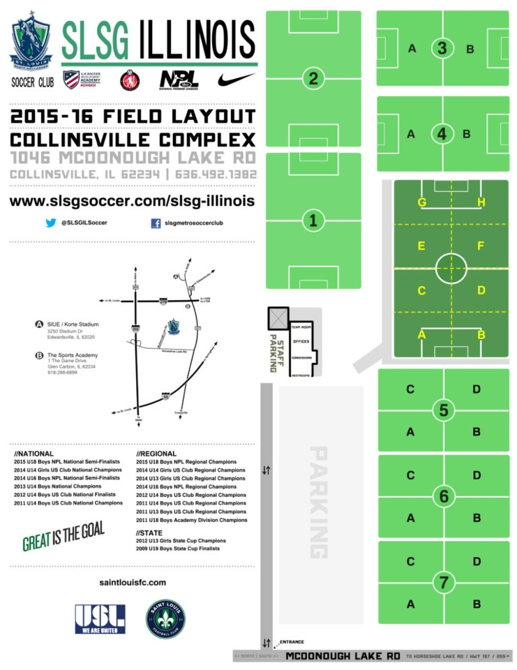 Slsg Collinsville Illinois St Louis Youth Soccer
